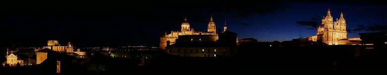Panoramic view of Salamanca